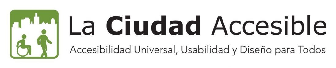 Logo de La ciudad accesible
